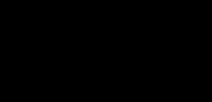 Vaxjo kommun logotyp liggande svart
